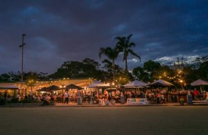 ACSE Barefoot Bowls 2018 at The Greens North Sydney (twilight)